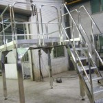 Stainless Gantry fabrication 4b engineering